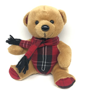 Teddy Bear - Palm Valley Plaid
