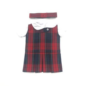 Doll Dress - Riviera Hall Plaid