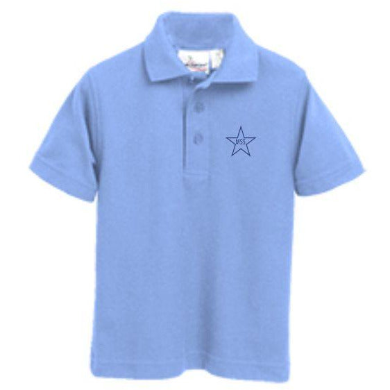 Knit Polo w/Mary Star Elementary logo