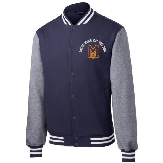 Baseball Jacket w/ Mary Star High logo