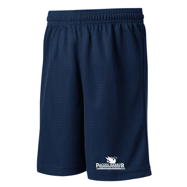 PE Mesh Short w/ Pacific Harbor logo (Grades 6-12)