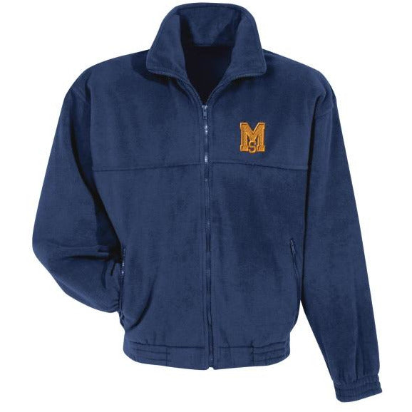 Full Zip Polar Fleece w/ Mary Star High logo