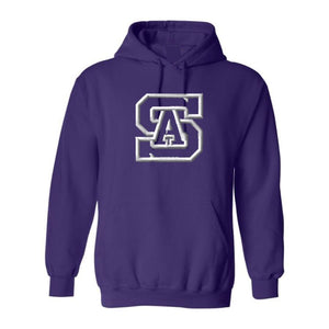 Hooded Sweatshirt w/ St. Anthony High Embroidered logo