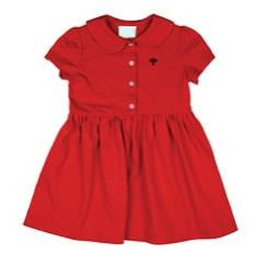 Red Polo Dress (Grades PS-K)