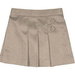 Girls Tab Skort - Khaki (Preschool)