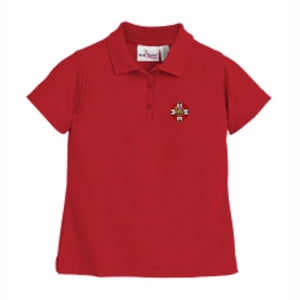 Women's Fitted Polo w/HIS logo