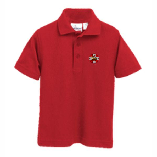 Knit Polo w/HIS logo