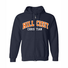 Load image into Gallery viewer, Hillcrest Tackle Twill Zip Hooded Sweatshirt