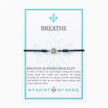 Load image into Gallery viewer, Breathe Blessing Bracelet - Silver Medals