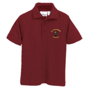 Knit Polo w/ St. Philomena logo