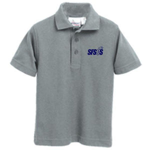 Knit Polo w/ Santa Fe Springs logo