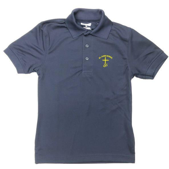 Unisex Dri-Fit Polo w/ St. James logo