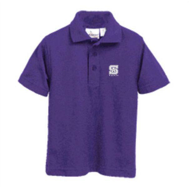 Knit Polo w/ St. Anthony High logo