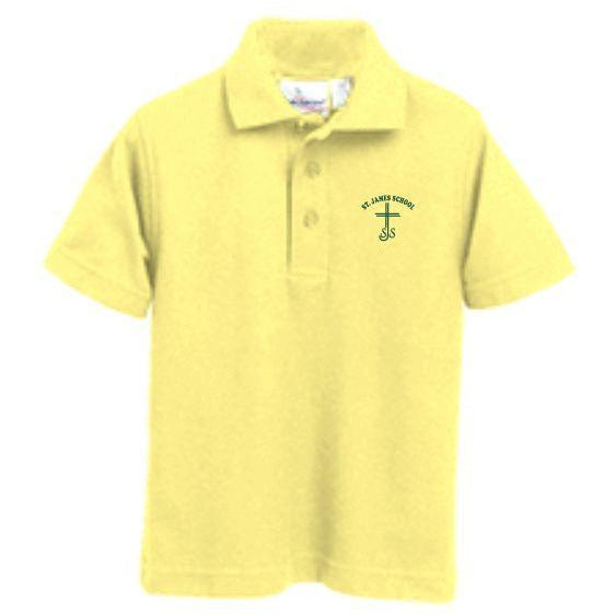 Knit Polo w/ St. James logo