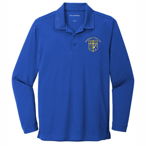 Long Sleeve Dri-fit Polo w/Beatitudes logo