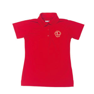 Girl's Fitted Dri-fit Polo w/Bethany logo