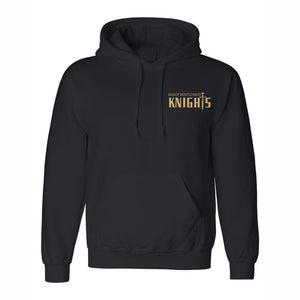 Hooded Sweatshirt w/Bishop embroidered small logo