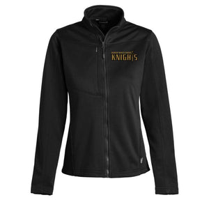 Women's Fitted Track Jacket w/Bishop logo