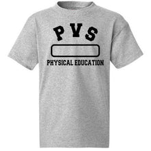 Load image into Gallery viewer, PE Shirt w/PVS logo (6-12)