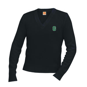 V-Neck Sweater w/Garces logo
