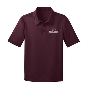 Girls Fitted Dri Fit Polo w/PHCS logo
