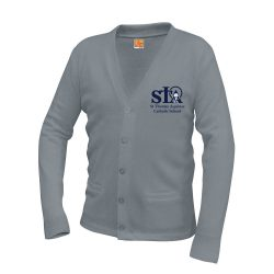 Cardigan Sweater w/St. Thomas logo