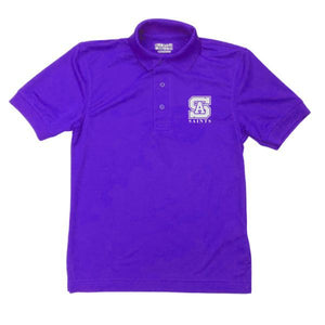 Unisex Dri-Fit Polo w/ St. Anthony High logo