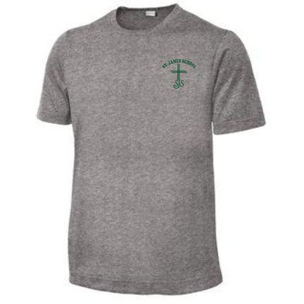 Dri-fit PE Shirt w/ St. James logo