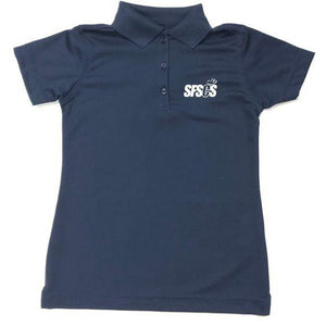 Girls Fitted Dri Fit Polo w/ Santa Fe Springs logo
