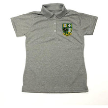 Load image into Gallery viewer, Girls Fitted Dri Fit Polo w/Hilary logo
