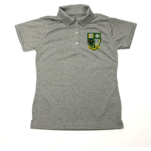 Girls Fitted Dri Fit Polo w/Hilary logo