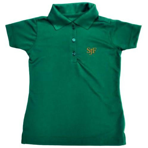 Girls Fitted Dri Fit Polo w/ St. John Fisher logo