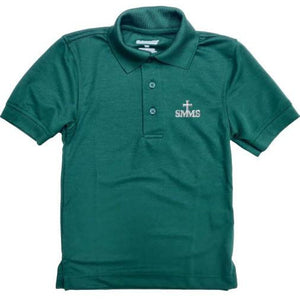 Unisex Dri-Fit Polo w/ St. Margaret Mary logo