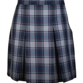 2 Pleat Skirt - Pacific Harbor Plaid (Grades 6-12)