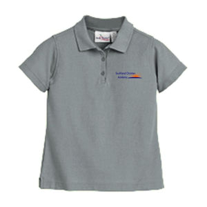 Girls Fitted Knit Polo w/Southland logo (Heatseal)