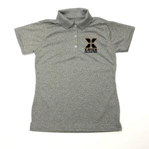 Girls Fitted Dri-fit Polo w/Xavier logo