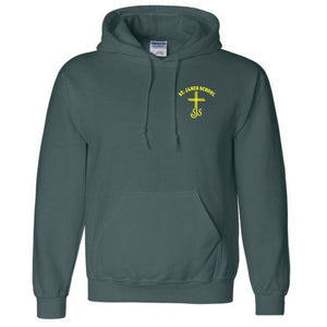 Hooded Sweatshirt w/ St. James logo
