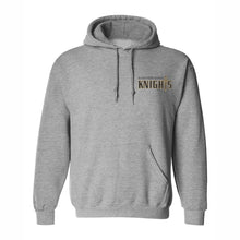 Load image into Gallery viewer, Hooded Sweatshirt w/Bishop embroidered small logo