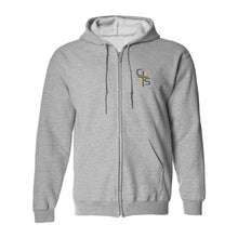 Load image into Gallery viewer, Zip Hood Sweatshirt w/Christ Lutheran logo
