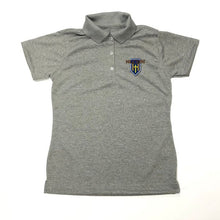 Load image into Gallery viewer, Girls Fitted Dri-fit Polo w/Hillcrest logo