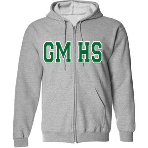 Garces Tackle Twill Zip Hooded Sweatshirt