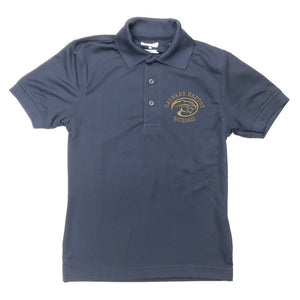 Unisex Dri-fit Polo w/Calvary embroidered logo