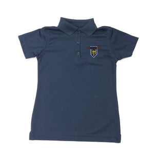 Girls Fitted Dri-fit Polo w/Hillcrest logo