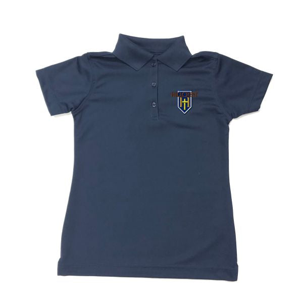Women's Fitted Dri-fit Polo w/HCS logo