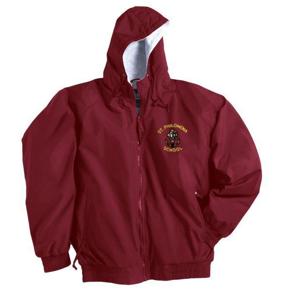 Nylon Jacket w/ St. Philomena Logo