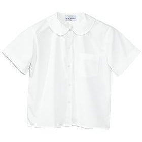 White Peter Pan Blouse- St. Philomena (Grades TK-5)