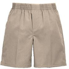 Pull On Shorts - Khaki