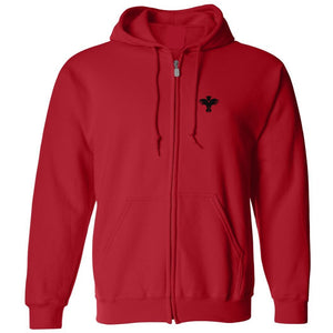 Zip Hood Sweatshirt w/Palm Valley logo