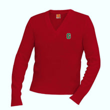 Load image into Gallery viewer, V-Neck Sweater w/Garces logo