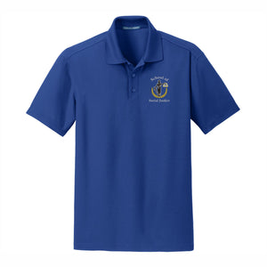 Unisex 3 Button Dri-fit Polo w/Marquez logo